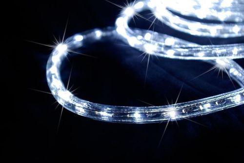 Wąż Led 1 M Zimny Biały