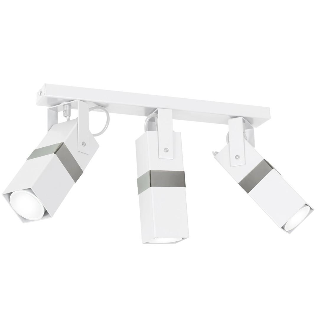 Lampa Sufitowa Vidar White/Chrome 3x Gu10
