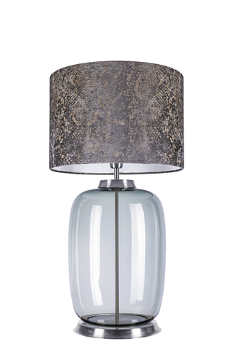 Lampa stołowa z abażurem - Laut Table Famlight SPIRIT GRAY E27 60W dekoracja
