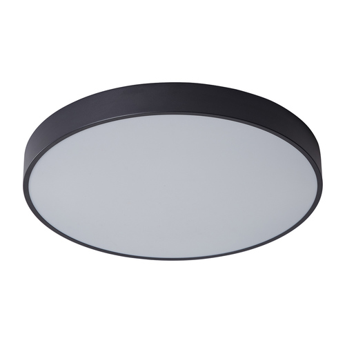 Czarny Nowoczesny Plafon Orbital LED
