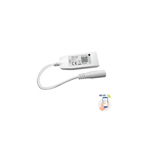 Kontroler Do Pasków Led Rgbw+Cct+Dimm 12/24v Dc 24w/48w Z Konektorem Wi-Fi Spectrum Smart