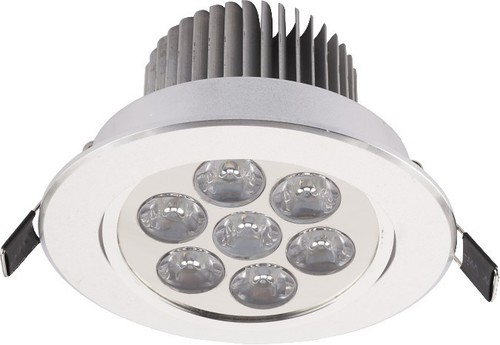 Oprawa oświetl.DOWNLIGHT LED VII SILVER