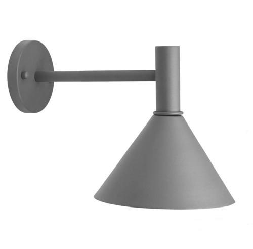 Lampa zewnętrzna ścienna Mini-Tripp  230V IP44 szara 30cm - PR Home