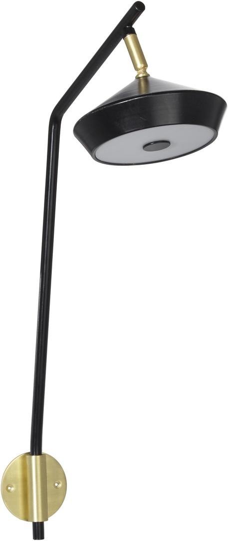 Lampa ścienna Geometri  Czarny / Gold 53cm - PR Home