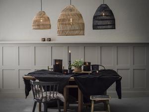 Lampa wisząca Maja Pendant lamp 53cm wiklina Naturalne - PR Home small 1