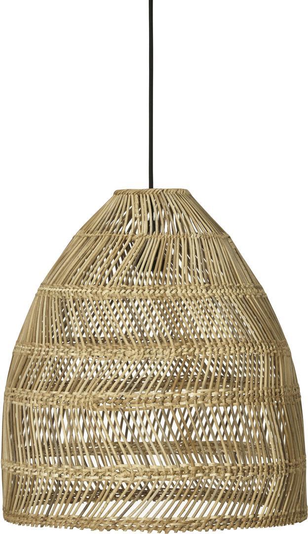 Lampa wisząca Maja Pendant lamp 53cm wiklina Naturalne - PR Home