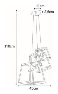 Lampa wisząca K-4134 z serii TEDY small 1
