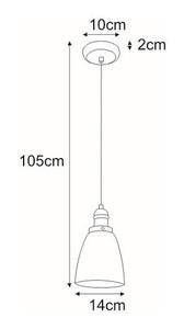 Lampa wisząca K-8036B-1 z serii SAMANTA small 1