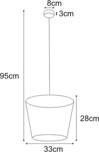 Lampa wisząca K-4645 z serii SOUL WHITE small 1
