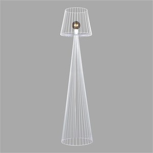 Lampa podłogowa K-4647 z serii SOUL WHITE small 0