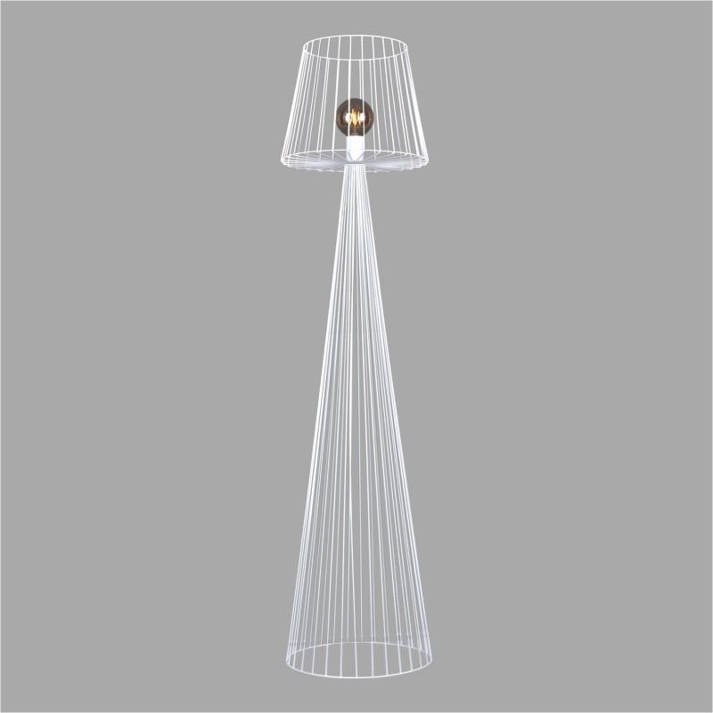 Lampa podłogowa K-4647 z serii SOUL WHITE