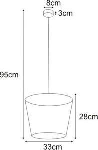 Lampa wisząca K-4641 z serii SOUL BLACK small 1
