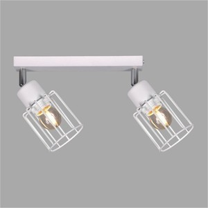 Lampy na listwie K-4571 z serii TROY WHITE small 0