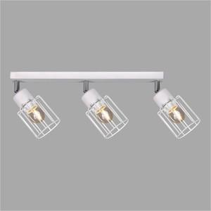 Lampy na listwie K-4572 z serii TROY WHITE small 0