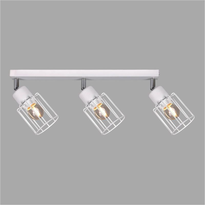Lampy na listwie K-4572 z serii TROY WHITE
