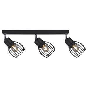 Lampy na listwie K-4566 z serii MIKA BLACK small 0