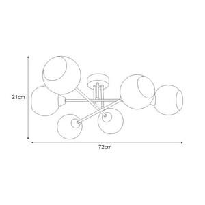 Lampa sufitowa K-JSL-1302/6 z serii FONS small 1