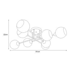 Lampa sufitowa K-JSL-1302/8 z serii FONS small 1