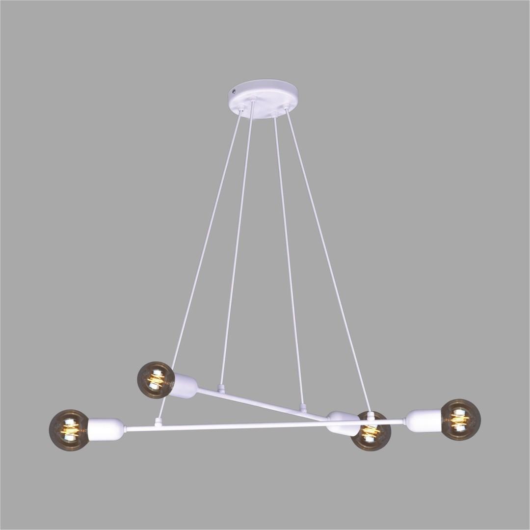 Lampa wisząca K-4390 z serii SITYA WHITE