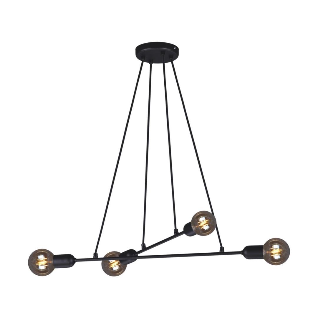 Lampa wisząca K-4380 z serii SITYA BLACK