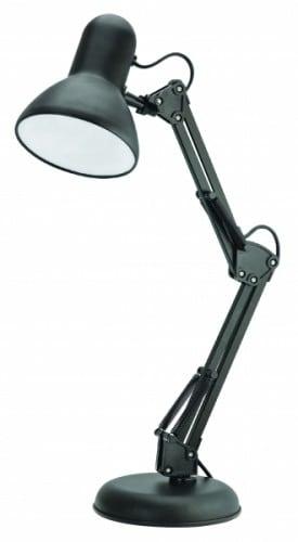Lampa biurkowa Pixie 230V/25W E27 czarny