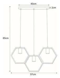 Lampa wisząca K-4721 z serii HONEY small 1