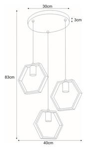 Lampa wisząca K-4722 z serii HONEY small 1