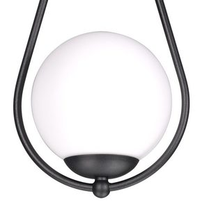 Lampa wisząca K-4770 z serii NEVE BLACK small 2