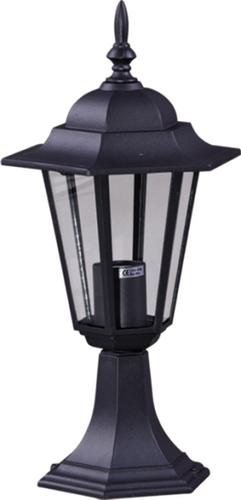 Niska zewnętrzna lampa stojąca K-5009S czarna z serii STANDARD