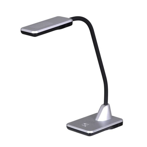 Lampka biurkowa K-BL1205 srebrna z serii TYMEK