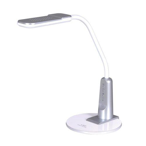 Lampka biurkowa K-BL1391 srebrna z serii TIMO