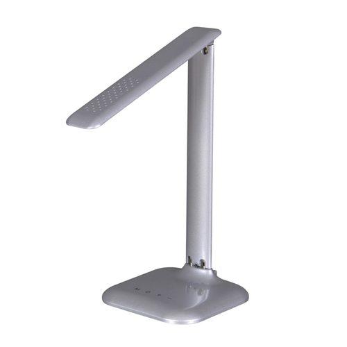 Lampka biurkowa K-MT-204 srebrna z serii LOKO