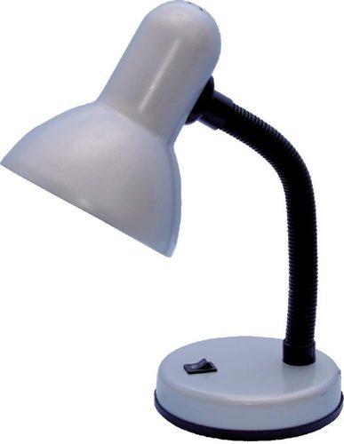 Lampka biurkowa K-MT-203 srebrna z serii CARIBA