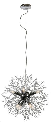 Capella Lampa Wisząca 40 8X40W E14 Chromowy