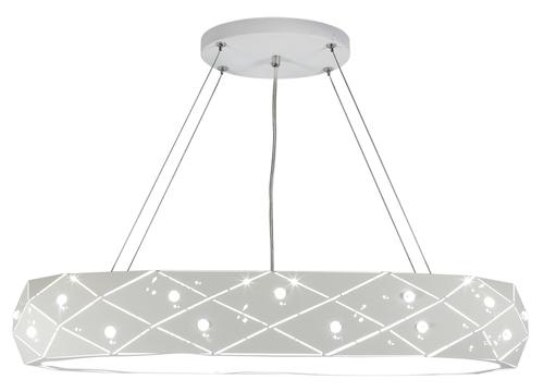 Glance Lampa Wisząca 65 5X40W G9 Z Żarówką Biały