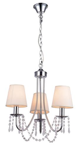 Ruti Lampa Wisząca 3X40W E14 Beżowy