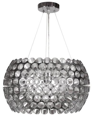 Abros Lampa Wisząca 40 1X60W E27 Srebrny