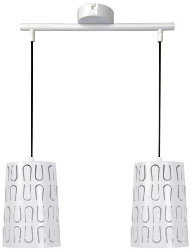 Vista Lampa Wisząca 2X60W E27 Biały
