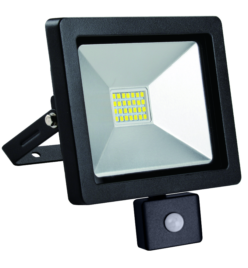 Naświetlacz LED slim z czujnikiem ruchu 20W/230V 4000K PIR