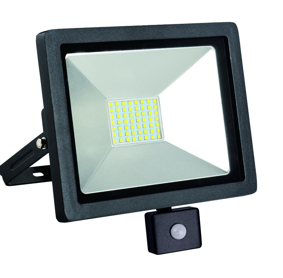 Naświetlacz LED slim z czujnikiem ruchu 50W/230V 6400K PIR