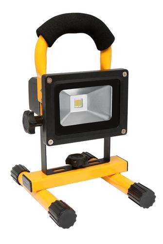 Naświetlacz LED 10W 6400K przenośny z akumulatorem
