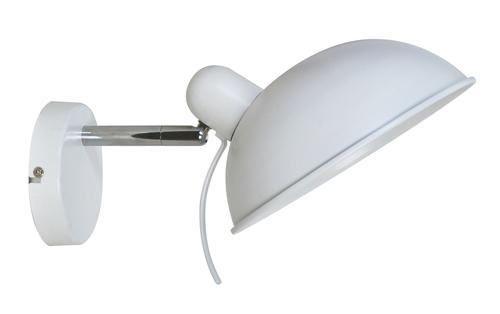 Durio Lampa Kinkiet 1X40W E14 Biały