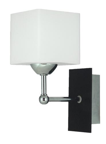 Cubetto Lampa Kinkiet 1X60 E27 Drewno+Chrom