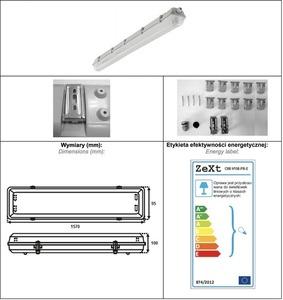 Oprawa economy elektronika     1X58W IP65 ABS+PS small 1