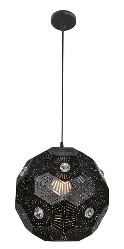 Euphoria Lampa Wisząca 30 1X40W E27 Czarny
