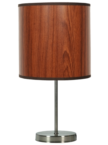 Timber Lampa Gabinetowa 1X60W E27 Dąb