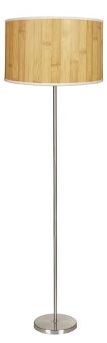 Timber Lampa Podłogowa 1X60W E27 Sosna+Abażur O Tym Samym Indeksie