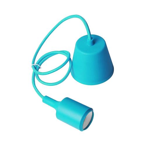 Lampa sufitowa Moderna E27 60W błękit