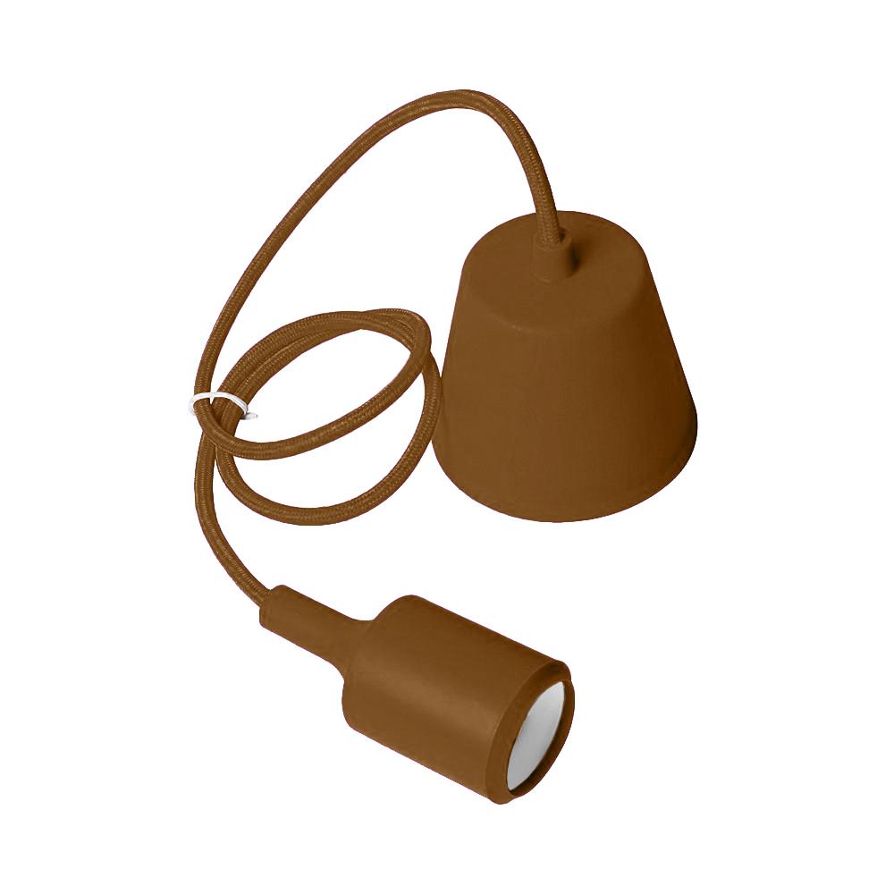 Lampa sufitowa Moderna E27 60W brązowy