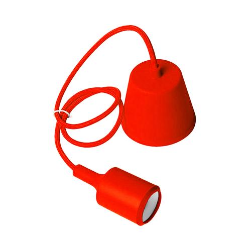 Lampa sufitowa Moderna E27 60W czerwony